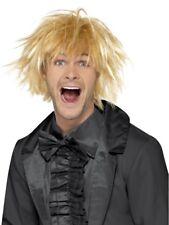 Blonde 90's Messy Surfer Guy Wig Adult Mens Smiffys Fancy Dress Costume
