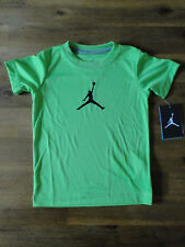 Nike Jodan Sporthemd Shirt Neongrün Gr.4 T  3-4 Jahre Dri Fit