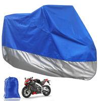 S//L Waterproof Motorcycle Bike Cover Storage Outdoor Rain Dust Protector AR UK