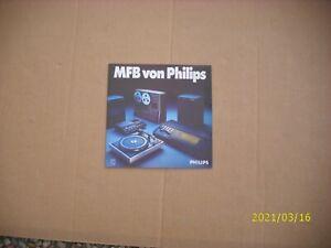 MFB Philips NEU (Zugabe bei Kauf von Philips Boxen)