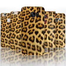 (BG0045) NATURAL LEOPARD PRINT PRINT PLASTIC PHONE HARD CASE COVER