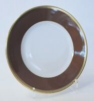 "Robert Haviland & C.Parlon Arc En Ciel Chestnut Bread & Butter Plate 6¼"" Limoges"