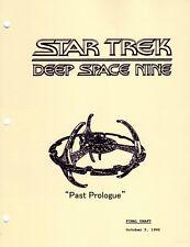 Star Trek Script - Deep Space Nine - Past Prologue
