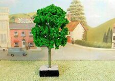 PACK of  6  MODEL TREES ( Light Green ) for  Railway /Scenery 1/43 - O ( New )