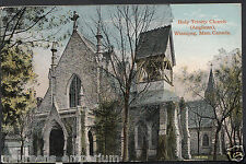 Canada Postcard - Holy Trinity Church (Anglican), Winnipeg, Manitoba  RT2053