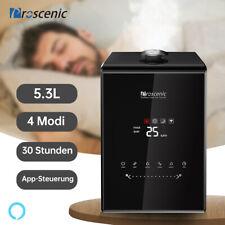 Proscenic Alexa 360° Ultraschall Luftbefeuchter Luftreiniger mit LED Touchpad