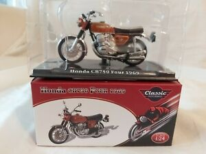 HONDA CB750 FOUR 1969 ATLAS EDITIONS CLASSIC MOTORBIKES 1:24 scale