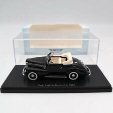 NEO 1:43 Opel Kapitan Hebmuller 1940 Black Resin Limited Edition Collection