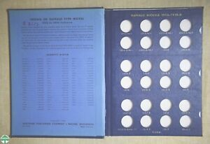 USED 1913-1938 BUFFALO NICKELS WHITMAN ALBUM #9408 - NO COINS