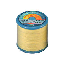 Kevlar Sewing Thread 1 x 40m bobbin reel. Tex-80 Ultra Strong. High temperature