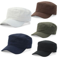 Mens Womens Army Cadet Combat Military Cap Patrol Urban Hats Casual Baseball Hat