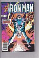 High Grade Canadian Newsstand Iron Man #186 $0.75 variant