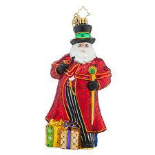 Christopher Radko - Grandiose Gent - Santa With Jeweled Staff Ornament - 1018484