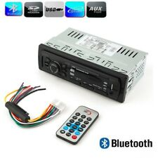Car Stereo Audio Bluetooth In-Dash FM Aux Input Receiver USB MP3 Radio Player