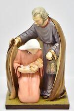 Natività, Sacra Famiglia con Giuseppe Maria e Bambin Gesù - Statue made in Italy