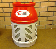 Refillable LPG Safefill 7.5kg Gas Bottle Cylinder For Caravan Motorhome Boat BBQ