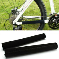 2X Cycling Bicycle Bike Frame Chain stay Protector Guard Nylon Pad Cover Wrap ME