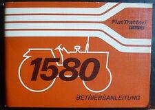 FIAT TRATTORI 1580 + 1580 DT Manuale di istruzioni