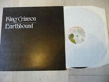 """KING CRIMSON""""EARTHBOUND-disco 33 giri ISLAND Italy 1972"""" PROG UK"""
