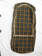 50´s Design Vintage Oldtimer / Cabriolet / Roadster Falt Koffer suitcase Tartan