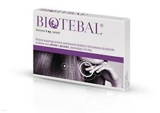 BIOTIN  BIOTEBAL 5MG 60 TABLETS  STRENGTHENS HAIR  NAILS