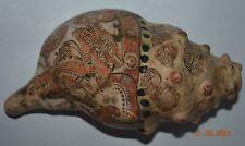 "Sale! Pre Columbian Mayan Shell Horn, glyphs 7"" Prov"