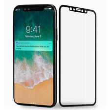 3D HD Clear Full Cover Temper Glass Film Screen Protector For Apple iPhone X