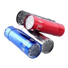 LED Flashlight UV Lamp Nail Dryer Portable Gel 15s Aluminum Home Use Beauty