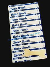 60-1000 NASAL STRIPS (SMALL/MED/LARGE) Breathe Better & Reduce Snoring Right Now