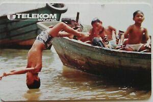 Malaysia Used Telekom Phone Card : Moments of Joy