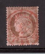 FRANCE 1875 USED #60, 10 cents CERES !! R