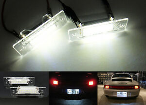 OEM Replacement LED for PORSCHE License Plate Light 911 Carrera GT Boxster 986