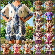 Paisley Above Knee, Mini Tunic Dresses