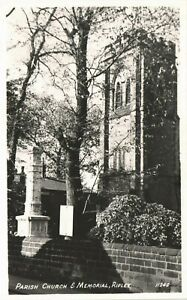 Ripley. Parish Church & Memorial # 11249 in RA Series.