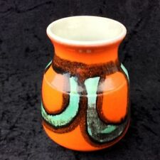 Red Poole Pottery Vases