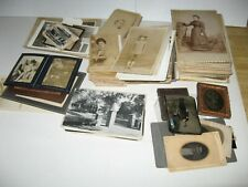 Wholesale Lot Antique Photos Cdv, Cabinet, Rppc Tintypes 200+ Images