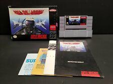 U.N. Squadron (Super Nintendo Entertainment System, 1991) SNES Complete NM Nice!