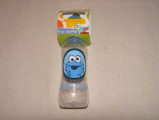 Sesame Street Elmo, Big Bird, Cookie Monster 9oz Baby Feeding Bottles MIP