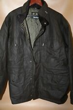 #141  Barbour Sapper Waxed Cotton Jacket Size XL