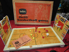VINTAGE TOY TUDOR 1960 TRU ACTION ELECTRIC BASKETBALL GAME WITH ORIGINAL BOX