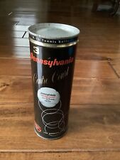 Unopened! Pennsylvania Centre Court Vintage Tennis Ball Can With Key