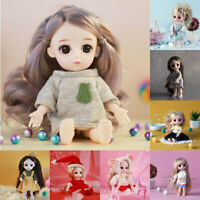 8*16CM Popular Baby Movable Joint Doll Best Gift Cute Toy Baby Multiple     AU