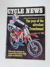 Cycle News Americas Weekly Motorcycle Newspaper #43 November 6, 1991 Bayle