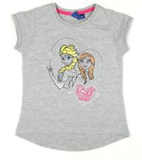 Abbigliamento grigi Disney con girocollo per bambine dai 2 ai 16 anni