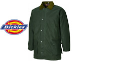 Dickies Mens Westfield Wax Jacket Bottle Green 2xl