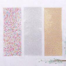 Rhinestone Shapes Scrapbooking Stickers