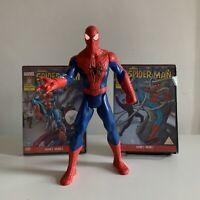 "Spider-Man 10"" Inch Action Figure Lights & Sound Chip Hasbro 2014 Plus 2 X DVDs!"