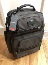 Tumi Alpha 3 Backpack - Coffee Color - Brand New