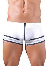 Svenj. Comfort Line Knappe Push-Up Hipster Pants Front-ZIP Bulge GAY in S
