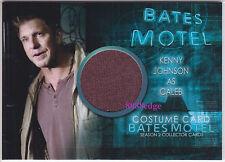 "2016 BATES MOTEL SEASON 2 COSTUME CARD: KENNY JOHNSON #CKJ1 ""THE SHIELD/DEXTER"""